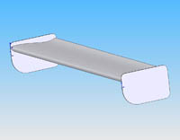 The Wing Shop, single element rear wing