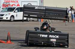 Dan Wasdahl, SCCA Autocross National, The Wing Shop, DJ Engineering