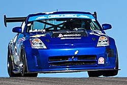 Sasha Anis, Nissan 350Z, Canadian Time Attack